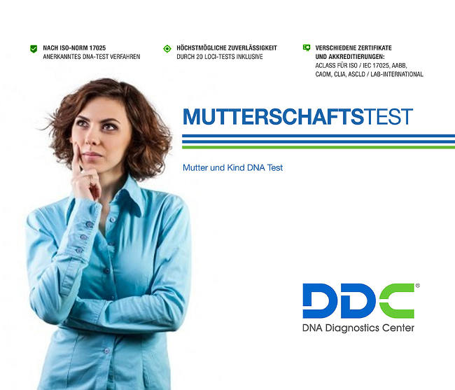 Mutterschaftstest bestellen & innerhalb weniger Tage Sicherheit haben >> DNA-test.ch